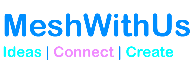MeshWithUs - Website Design and Website Developer Logo